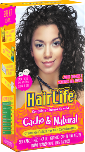 Treatment pack Embelleze HairLife Curls 5 products