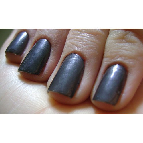 Nail polish Risqué Toquio gray metallic 8ml