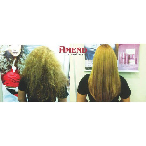 Brazilian straightening kit Amend Liss Intensy with keratin 740ml