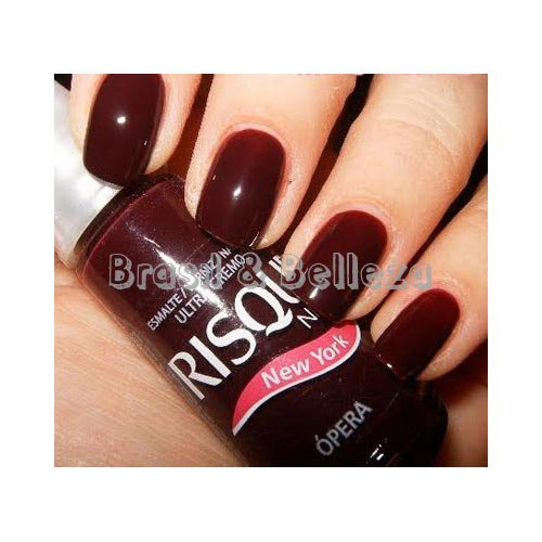 Nail polish Risqué Ópera burgundy ultra creamy 8ml