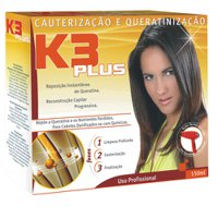 Keratin treatment kit K3 Plus cauterization & keratinization 150g