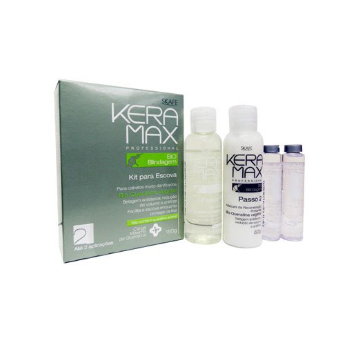 Kit tratamiento de keratina Keramax bio blindaje 150ml