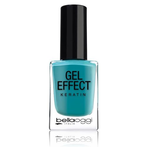 Nail polish Gel Effect Keratin 15 Jade turquoise 10ml