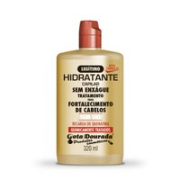 Leave-in cream Gota Dourada Keratin Recharge 320ml