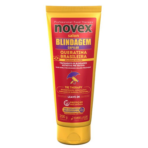 Keratin pack Novex 5 products
