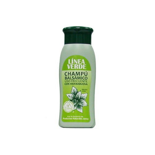 Shampoo Línea Verde Balsamic frequent use with mint salt-free 400ml
