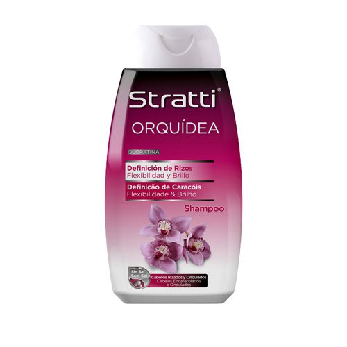 Shampoo Stratti Orchid curls definition with keratin salt-free 400ml