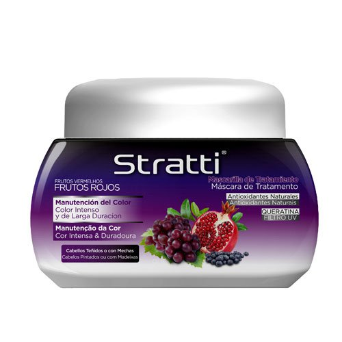 Mask Stratti Red Fruits intense color with keratin 550g