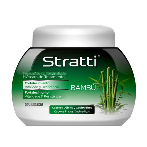 Mask Stratti Bamboo vitality & strength with keratin 1100g