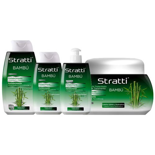 Maintenance pack Stratti Bamboo vitality & strength 4 products