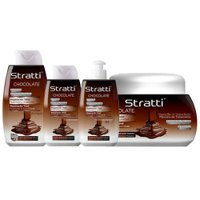 Pack mantenimiento Stratti Chocolate & Keratina 4 productos