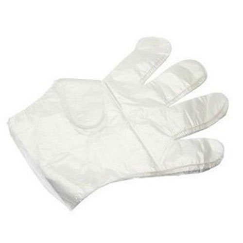 Gloves Bifull plastic transparent single-use 1 pair