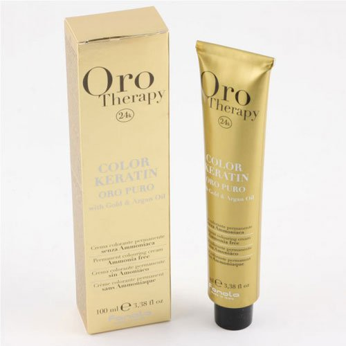 Ammonia-free dye Fanola Oro Therapy 24k 8.3 golden 100ml