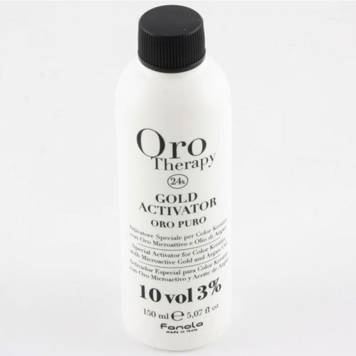 Hair dye activator Fanola Oro Therapy 24k 10vol 3% 150ml