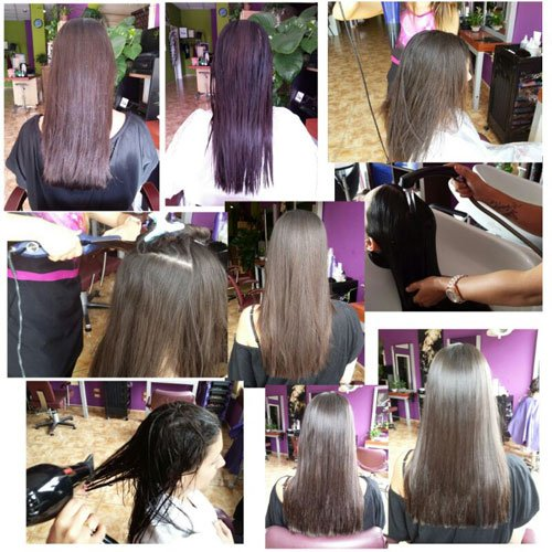 Brazilian straightening pack Amend Liss Intensy 4 products