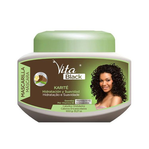 Mask Vitablack hydration & smoothness with keratin and shea butter 1Kg