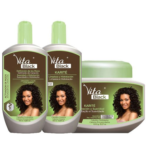 Maintenance pack Vitablack hydration & softness 3 products