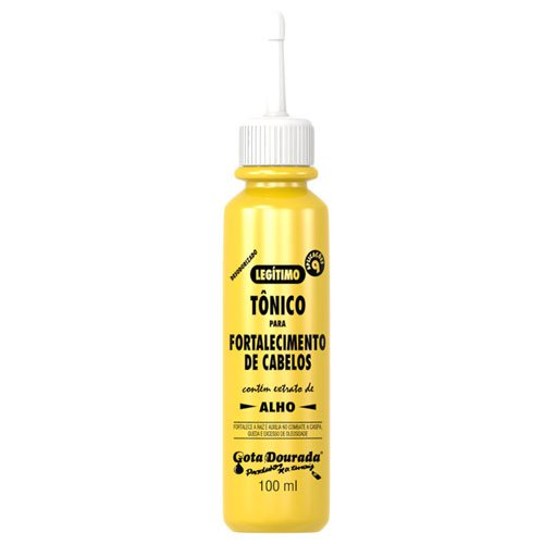 Hair ends repairer Gota Dourada Straightened hair with argan & moringa 30ml