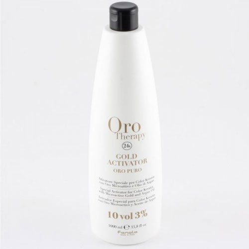 Hair dye activator Fanola Oro Therapy 24k 10vol 3% 1L