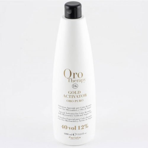 Hair dye activator Fanola Oro Therapy 24k 40vol 12% 1L