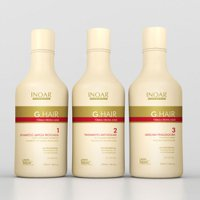 Brazilian straightening pack Inoar G-Hair keratin 3x250ml