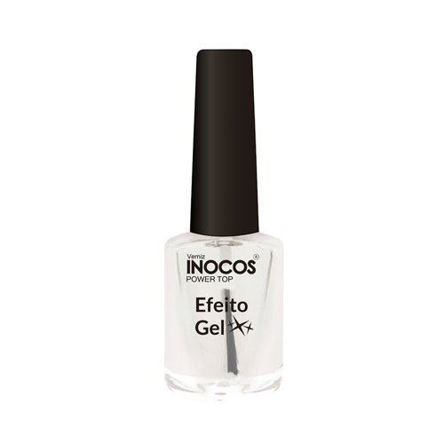 Top Coat Inocos Efeito Gel hand and foot care 9ml