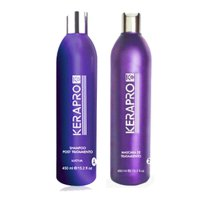 Progressive straightening pack Kerapro with keratin 2x450ml
