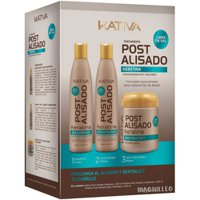 Kit Kativa post straightening salt-free 3x250ml
