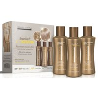 Brazilian straightening kit Cadiveu Brasil Cacau with ECO keratin 330ml