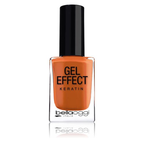 Nail polish Gel Effect Keratin 44 Africa orange 10ml