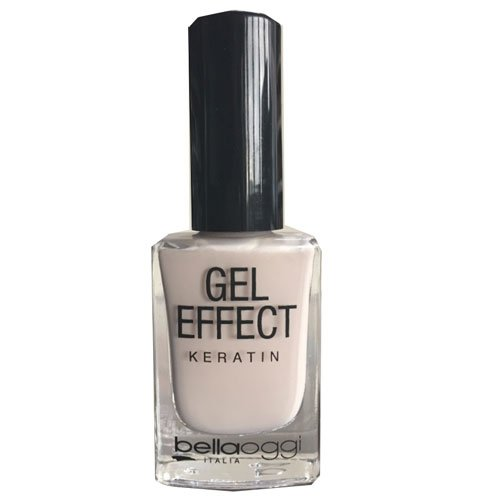 Esmalte de uñas Gel Effect Keratin 50 Eden White blanco 10ml