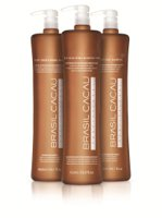 Brazilian straightening pack Cadiveu Brasil Cacau ECO 3x300ml