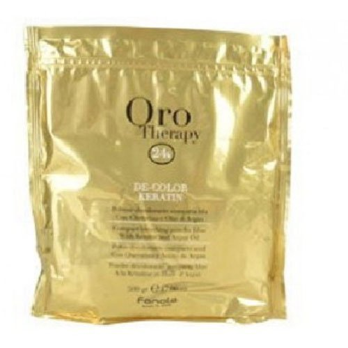 Blue bleaching powder Fanola Oro Therapy 24k keratin and argan 75g