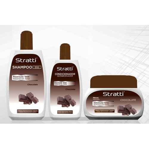 Pack mantenimiento Stratti Chocolate 3 productos