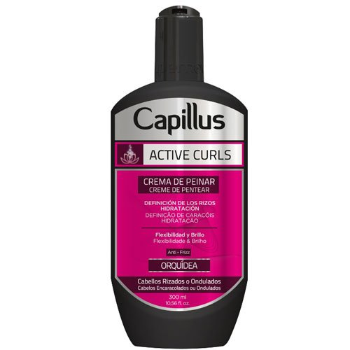 Leave-in cream Capillus Active Curls Orchid 300ml