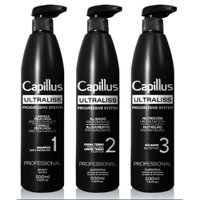 Kit Capillus UltraLiss Progressive Straightening 3x500ml