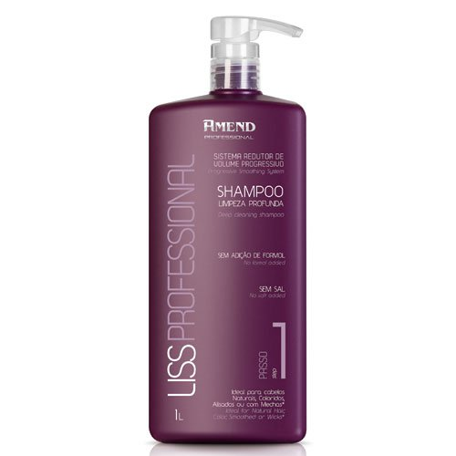 Anti-residue shampoo Amend Liss Intensy with keratin 1L