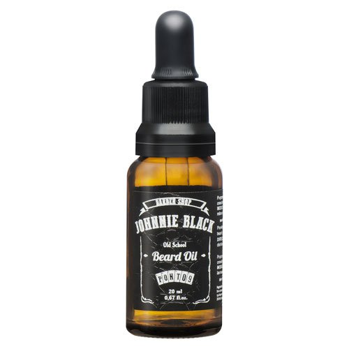 Aceite de barba Johnnie Black 30ml