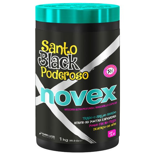 Maintenance pack Novex Santo Black 4 products