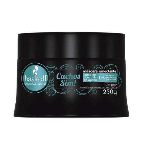 Mask Haskell Curly yes! Low Poo 0% sulfates, pretolatums y parabens 250g