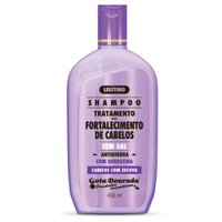 Shampoo Gota Dourada Straightened Hair with keratin salt-free 430ml