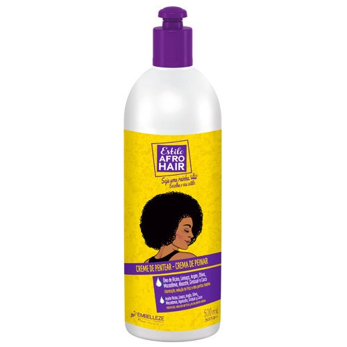 Leave-in cream Afro Hair Style with argan oil 500g