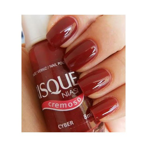 Nail polish Risqué Cyber red ultra creamy 8ml