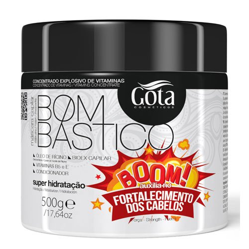 Mask Gota Dourada Bombastico Hair Growth 500g