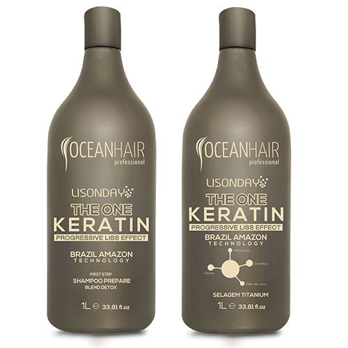 Kit Ocean Hair Lisonday Straightening 2L