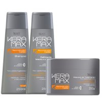 Maintenance pack Keramax Brazilian Keratin Reconstruction 3 products