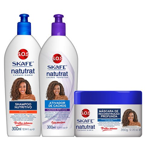 Maintenance Pack Natutrat My Curls Keratin 3 products