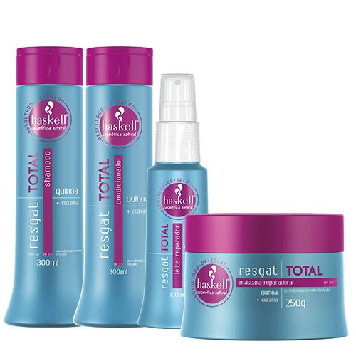 Maintenance pack Haskell Total Repair 4 products