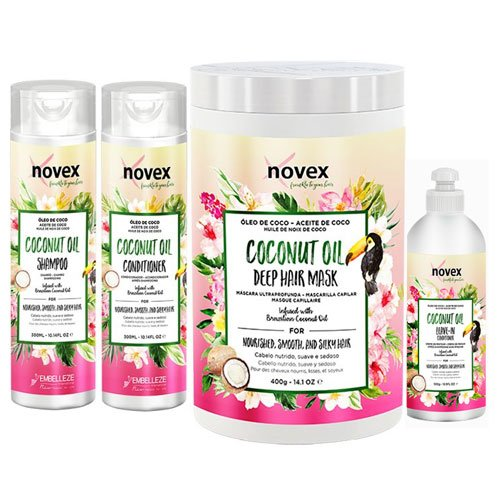 Maintenance pack Novex Coconut 4 products