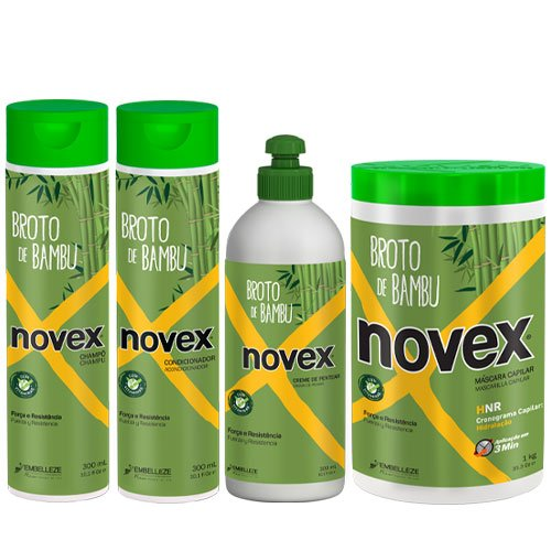 Maintenance pack Novex Bamboo 4 products